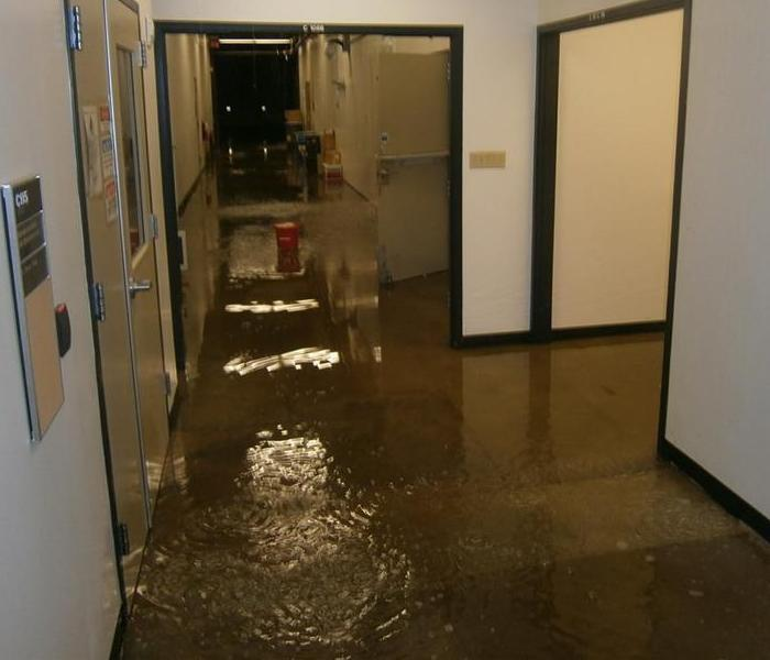 Water Damage – Albany Commercial Building