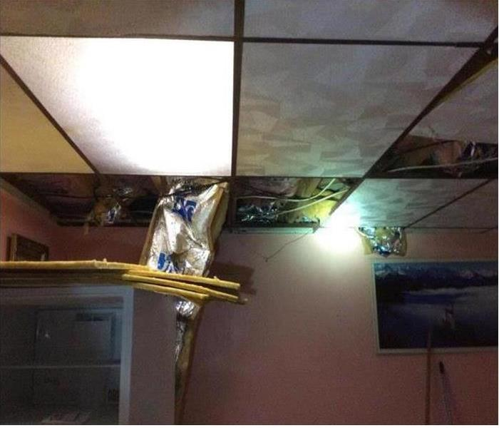 Water Damage Albany home suffers water damage