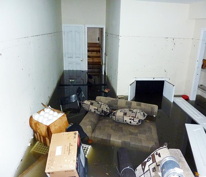 How Basement Water Damage Is Cleaned Up
